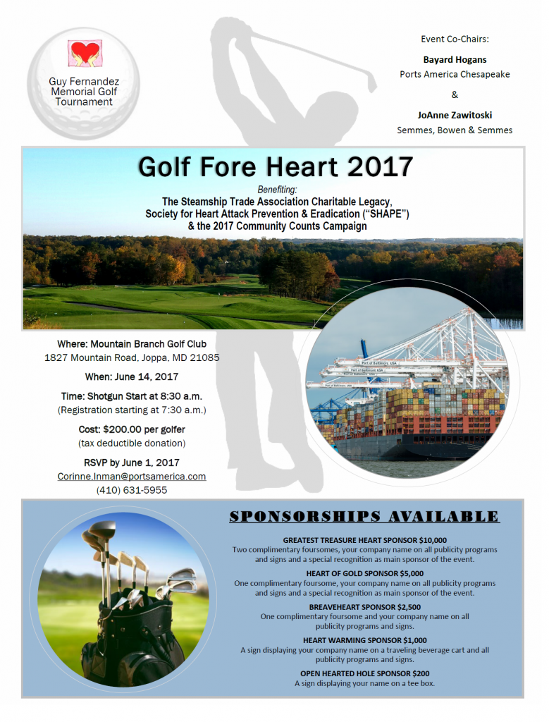 Golf Fore Heart 2017